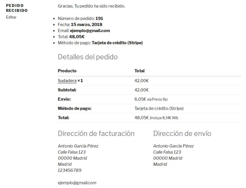 Factura - no PDF