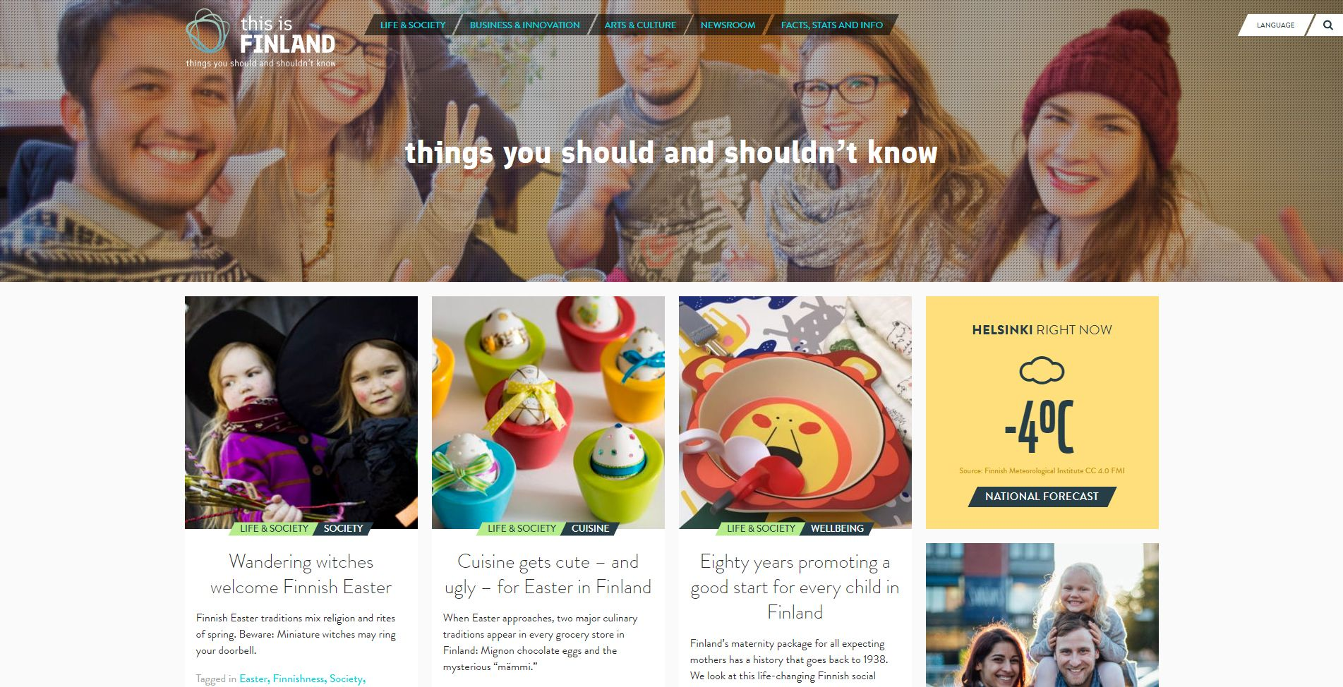 Diseño Web con WordPress This Is Finland