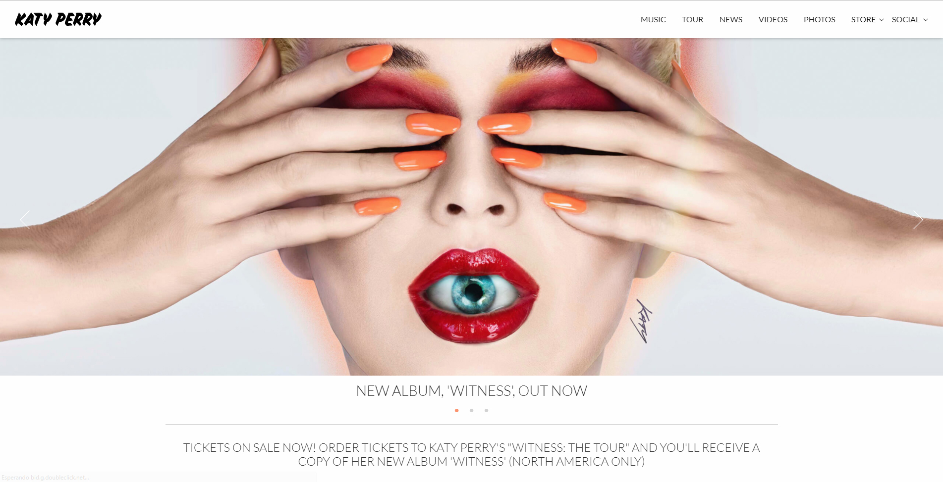 Diseño Web con WordPress Katy Perry