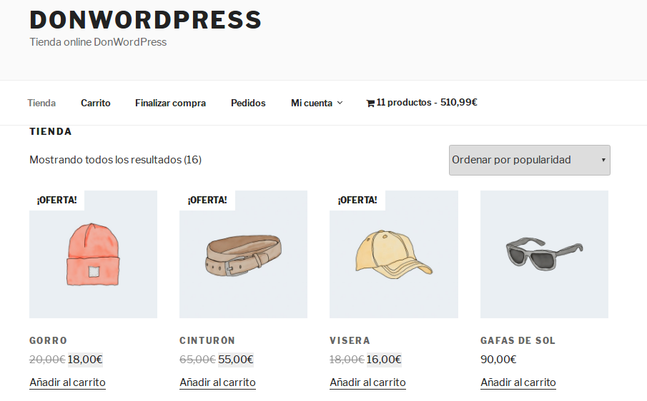 WooCommerce Menu Cart