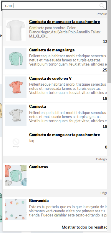 Omega Instant Search For WooCommerce