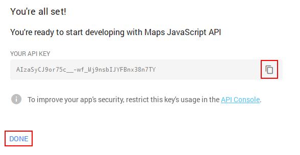 Obtener API Key 3