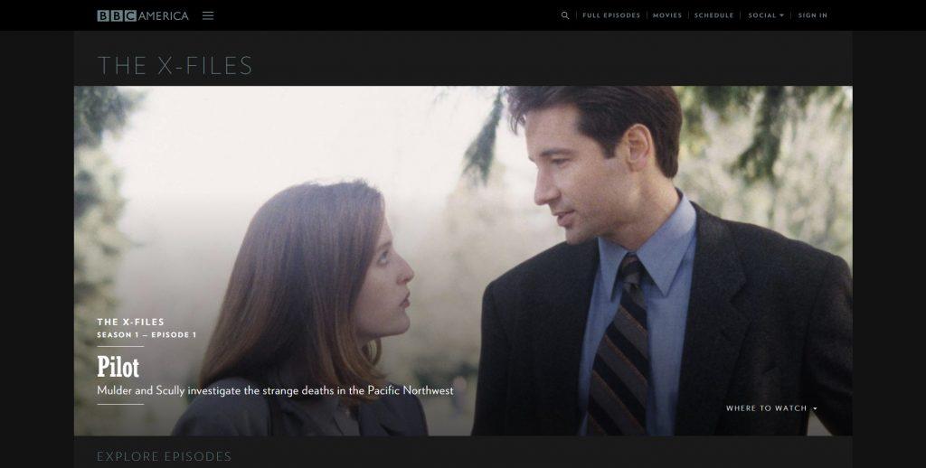 Diseño Web con WordPress del Canal BBC America