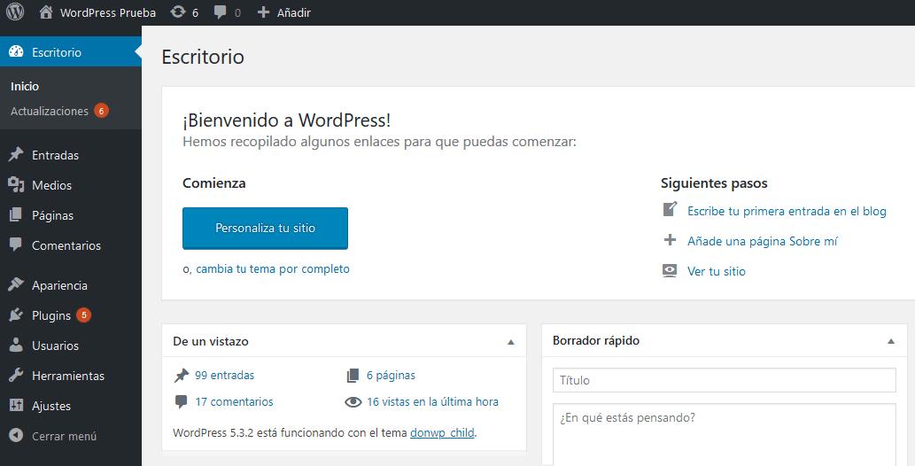 Fundamentos de Seguridad WordPress: Actualizaciones WordPress